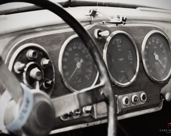 ASTON MARTIN DB2 INTERIOR IN RUIN
