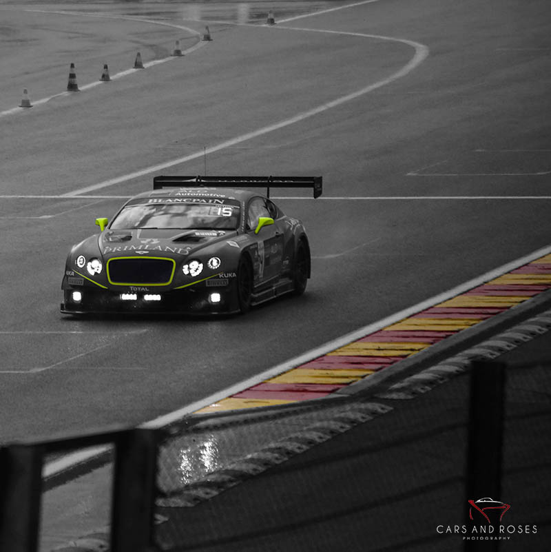 Art Print Bentley GT3