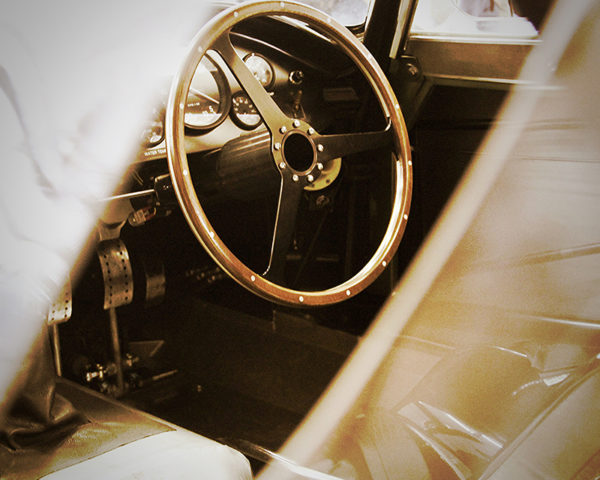 Aston Martin DB3 Interior