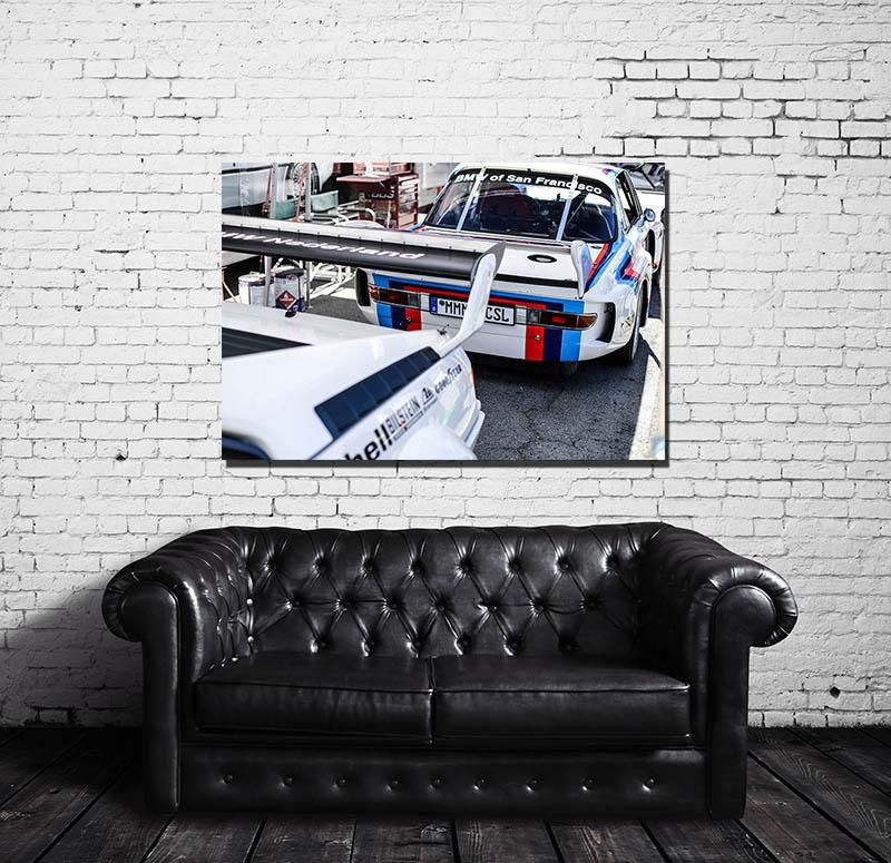 BMW 3.0 CSL Decorative Wall Prints
