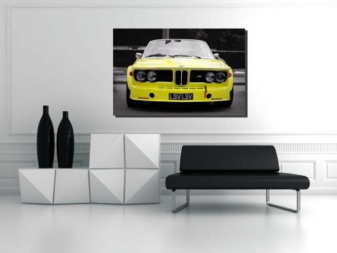 BMW Cars photos on Canvas