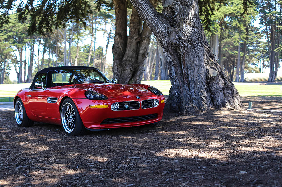 BMW Z8 CAR PHOTO PRINT