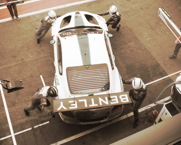 Bentley GT3 & The Team