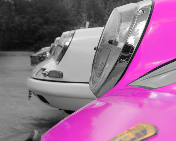 Canvas Art Porsche Colours