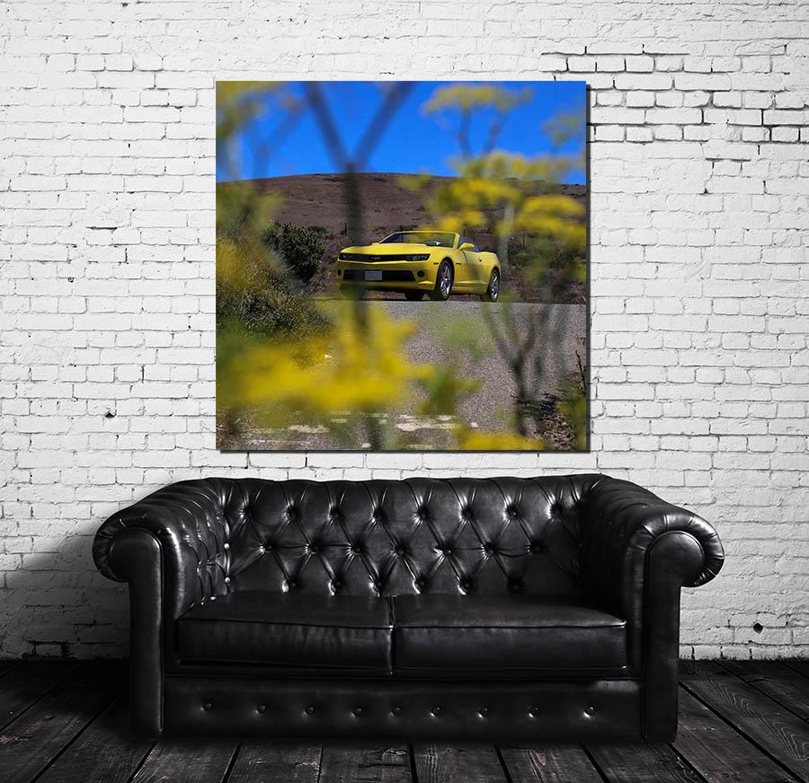 Canvases Prints Chevrolet Camaro