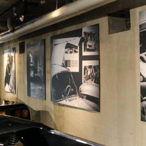 Car Photograph Print Cars and Roses