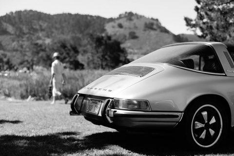 Car Print Porsche Targa