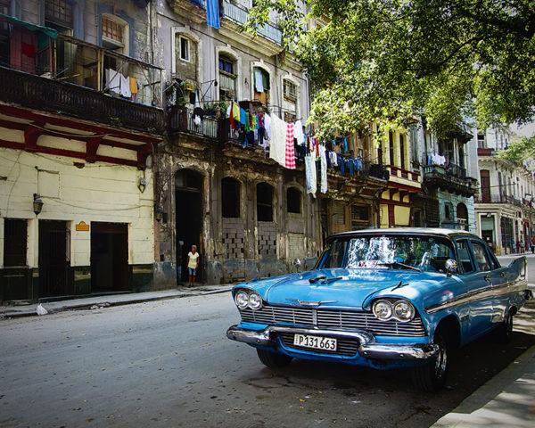 Car Wall Art Cuba