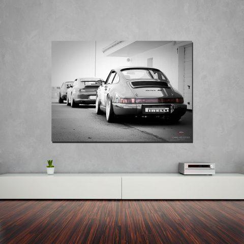 Car porsche Canvas Print