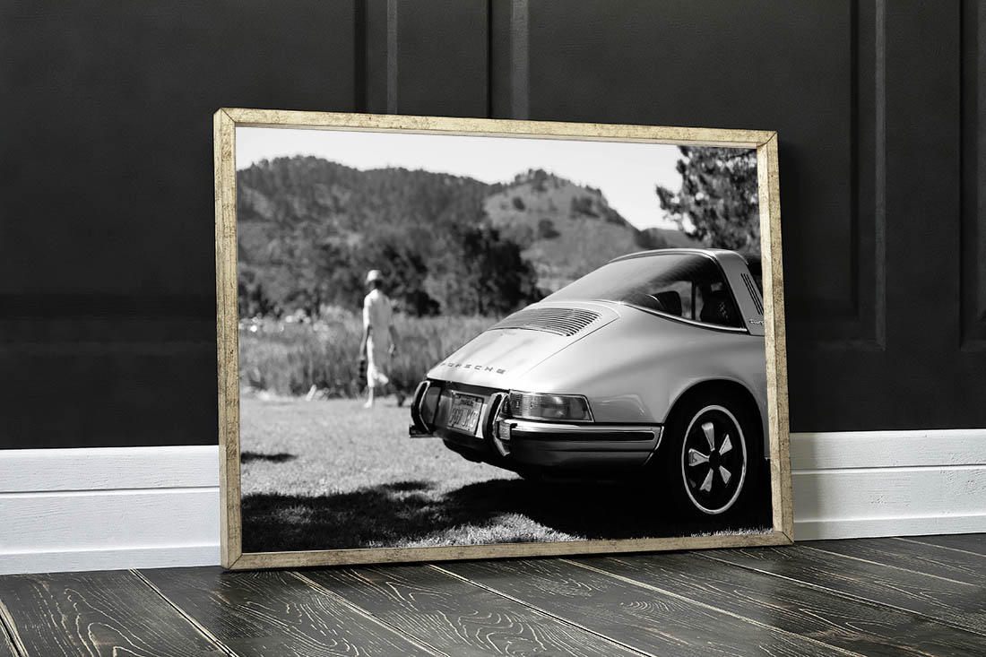 Cars Prints Porsche Targa
