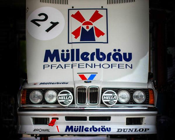 Deco Car Print BMW M