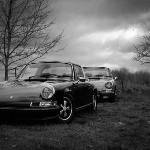 Decorative Photograph Porsche Classic