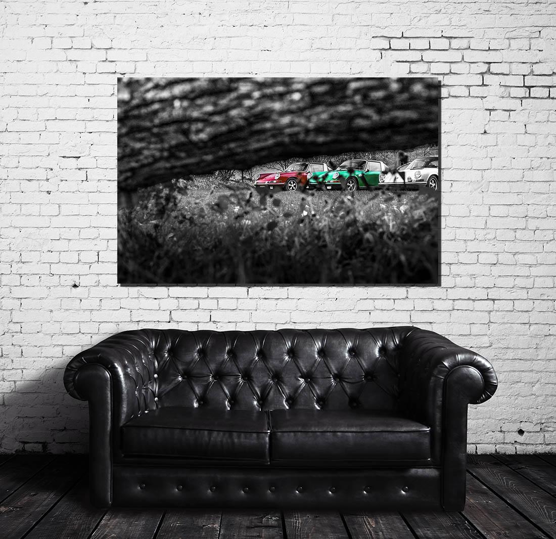 Decorative Photographs Porsche Targa