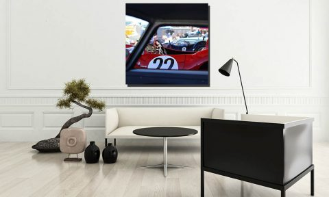 Decorative Prints Photograph Ferrari 412 S
