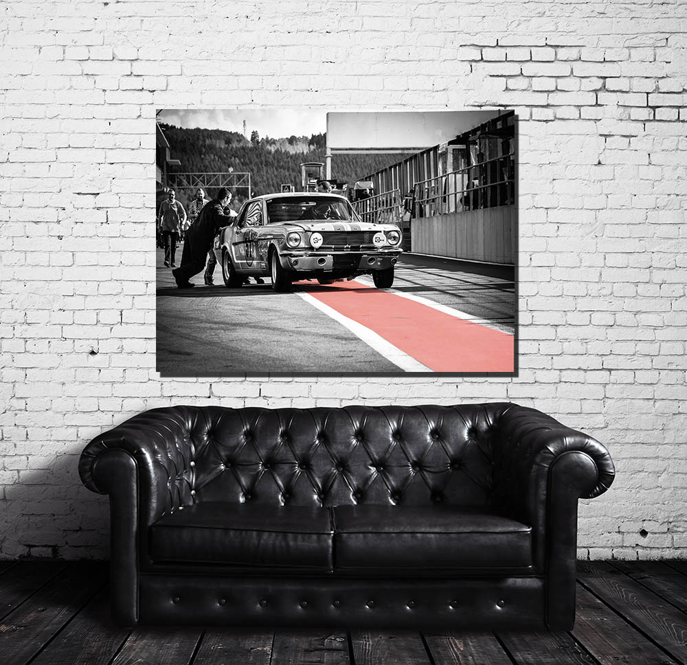 Decorative Wall Prints Ford Mustang
