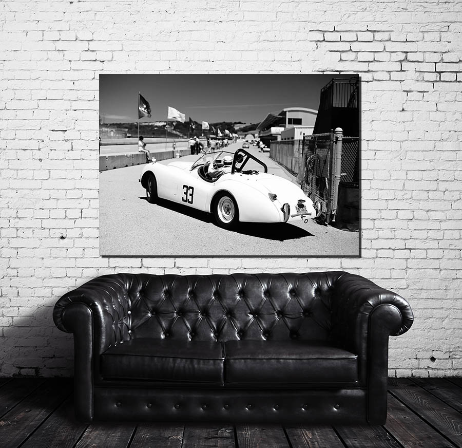 Decorative Wall Prints Old Car