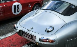 E-Type Jaguar Photograph