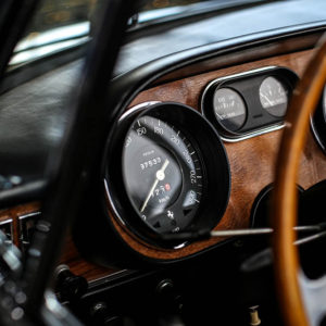 Ferrari 275 GTS Dashboard Photograph