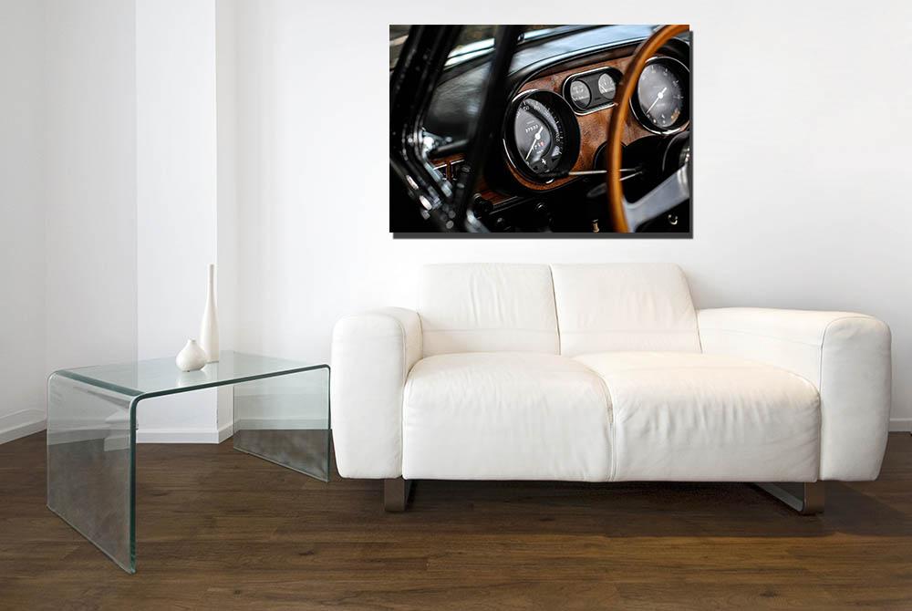 Ferrari 275 GTS Dashboard Photographs