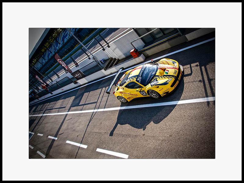 Ferrari GT3 Wall Print