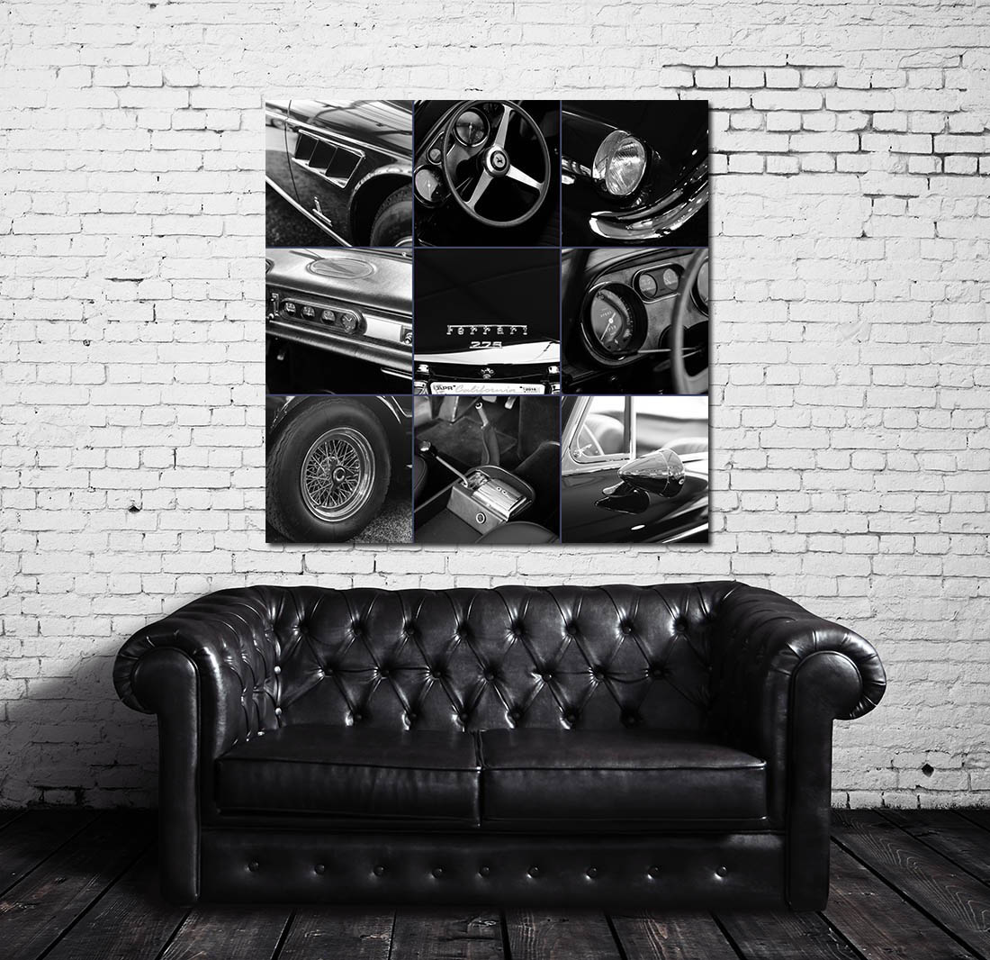 Ferrari Wall Prints Art
