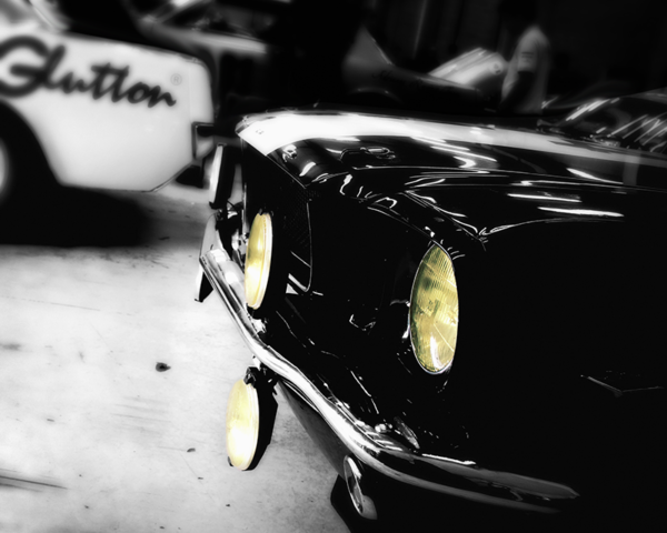 Ford Mustang Yellow Headlights