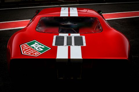 Framed Picture Ford GT40