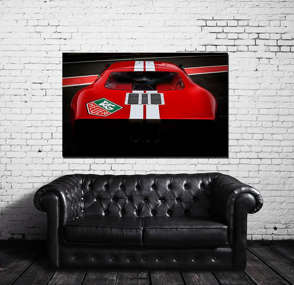 Framed Pictures Ford GT40