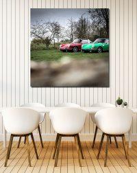 Home Decor Porsche Targa