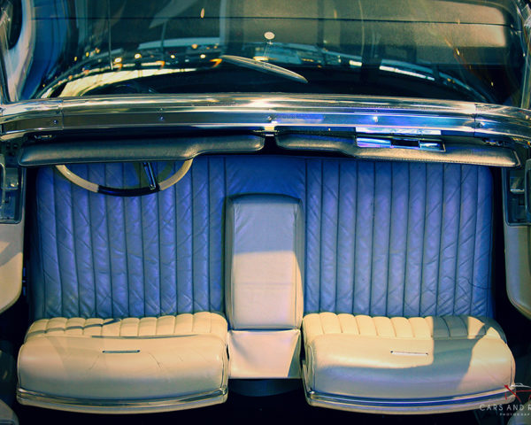 Interior Lincoln Continental