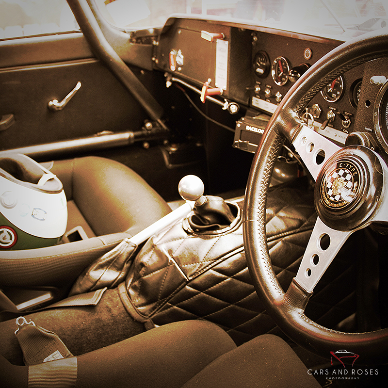 Jaguar Type E Interior