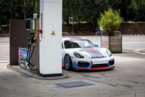 Martini Porsche Cayman GT4 Photo