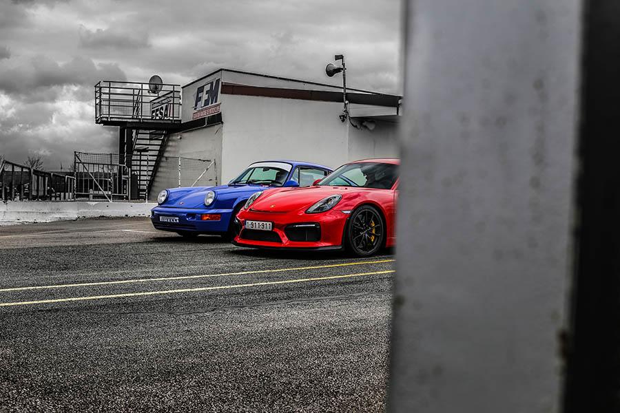 Modern Car Print Porsche GT4