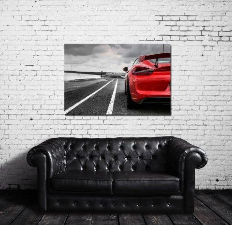 Modern Car Prints GT4 Porsche
