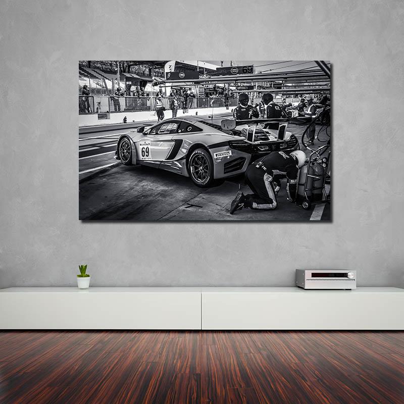 Modern Car Prints McLaren