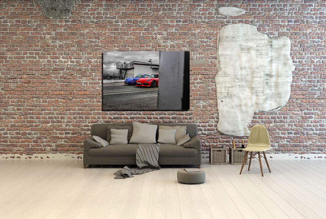 Modern Cars Prints Porsche GT4