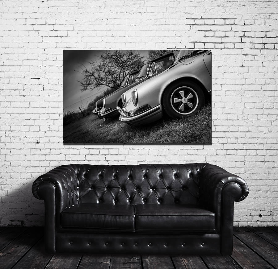 Modern Design Old Porsche Prints