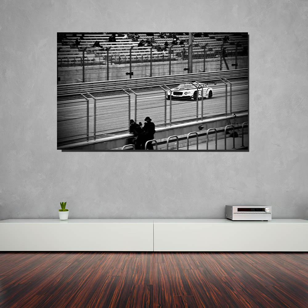Modern Wall Prints Race Car