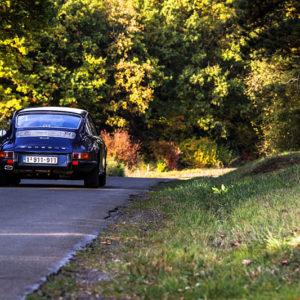 Old 911 Porsche Classic Photograph