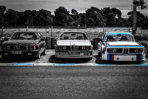 Old BMW Photograph