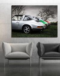Old Porsche Targa Photograph