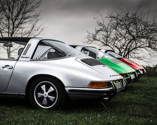 Old Porsche Targa Photographs