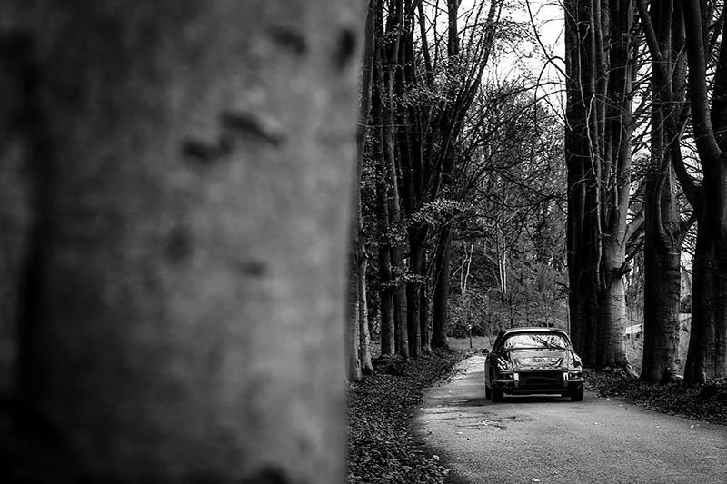 Wall Decorative Photograph Porsche 911