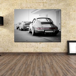 Old Porsche Canvas