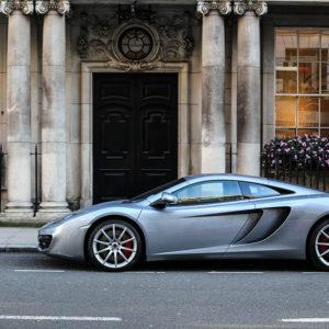 Photo Car Print McLaren