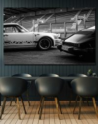Black and White Photos Porsche 911