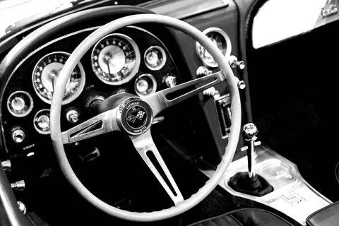 Photo Print Corvette Stingray