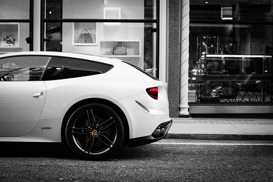 Photo Print Ferrari FF