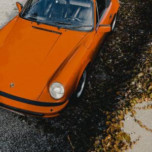 Vintage Photograph Porsche Targa