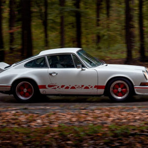 Photo Old Porsche Carrera RS